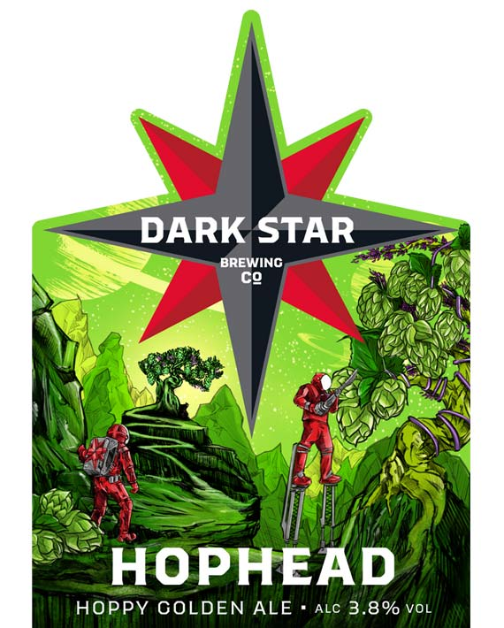 Dark Star Hop Head